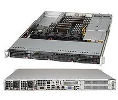 Сервер Supermicro 1U: 2x E5-2609v3, 32Gb DDR4