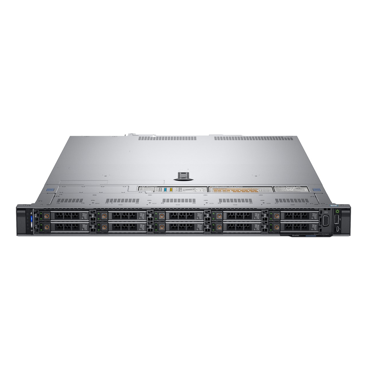Сервер DELL PowerEdge R440 1U/ 8SFF/ 2x5118