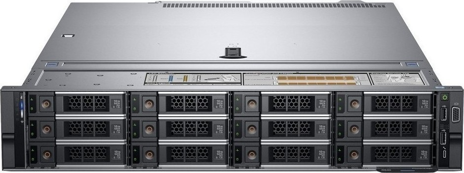 Сервер DELL PowerEdge R540 2U/ 8LFF/ 1x4116